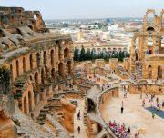 Amphitheatre-in-El-Jem-Tunisia